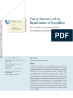 Mc Lanahan..Family Structure and the Reproduction of Inequalites