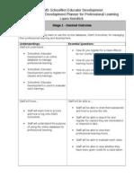 Laura Kendrick Professional Learning Plan