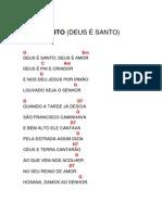 SANTO (DEUS É SANTO)