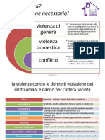 Violenza Di Genere - CaDBrescia - Dati2013