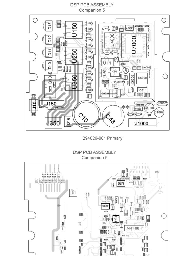 Companion 5 Dsp Pcb Top and Bottom Board LayoutScribd