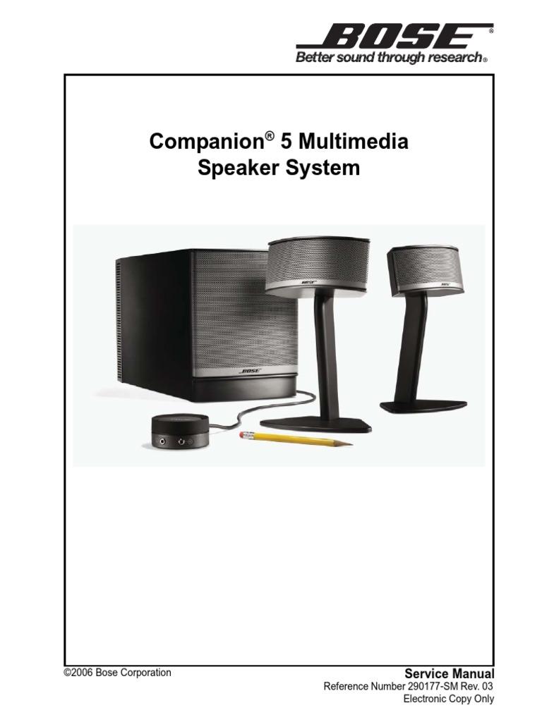 Companion 5 Service Manual Sm r03   Electrostatic Discharge   LoudspeakerScribd