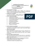 Cuestionario Bromatologia I