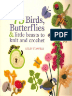 75 Birds, Butterflies and Mini Beasts to Knit and Crochet