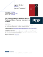 Brian R. Doak the Fate and Power of Heroic Bones (HTR 2013)