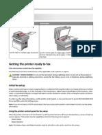 Lexmark Fax