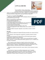 Vitamina B9 Sau Acidul Folic