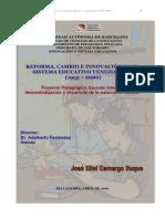 Cambio en El Sistema Educativo Venezolano 2001