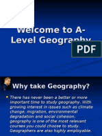 Welcome to a-Level Geography
