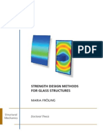 Strength Design Methods_for Glass Structures