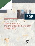 Casa e Balcao - Os Caixeiros de Salvador (1890-1930)