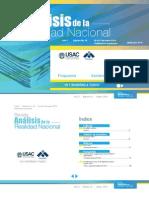 Revista Análisis de la Realidad Nacional No. 42