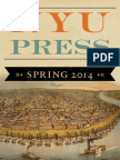 NYU Press | Spring 2014