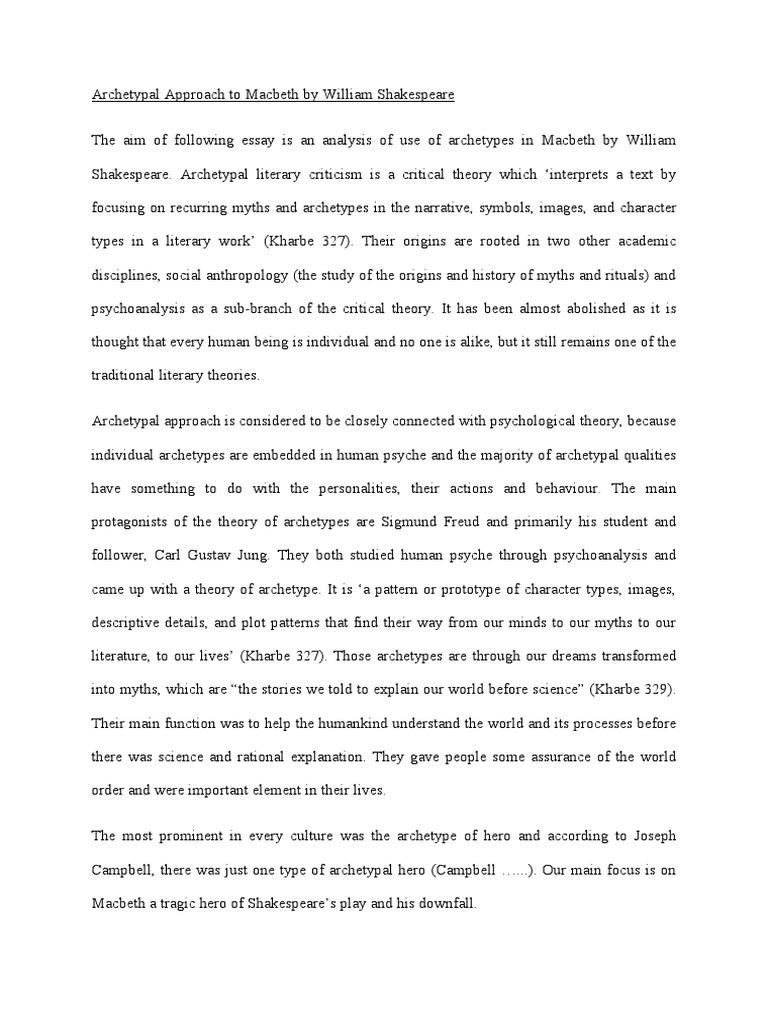macbeth downfall essay