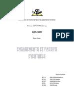 [Audit avancé] Engagements et passifs éventuels