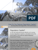 Reducing regulatory capital by instigating risk management system and operational risk management reporting