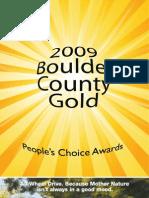 Boulder County Gold 2009