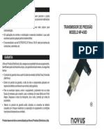 Manual Transmissor NP430