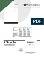 Electrolux White-westinghause Frigidarie Wdb11nrd..