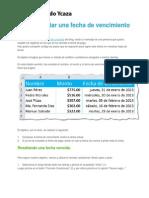 Cómo resaltar una fecha de vencimiento en Excel