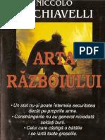 Nou > Niccolo Machiavelli > Arta Razboiului