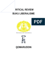 Resum Liberalisme