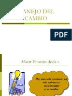 Manejo Del Cambio