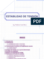 CAPITULO VII - ESTABILIDAD DE TENSIÓN