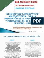 ROL Y FUNCIONES DEL PSICÓLOGO EN EL CAMPO EDUCATIVO -2012 - LUCRE