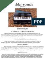 Harmonium [PDF Library]