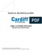 Manual Instalacion, De Piso Techo