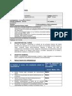 syllabus TALLER DE DISEÑO I