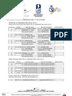 F E D H Calendarios 2009-2010 Revision 20090921