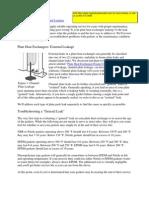 Plate Heat Exchanger Troubleshooting