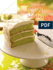 Clarkson Potter, Potter Craft, Watson-Guptill and Broadway Books Spring 2010 Catalogue