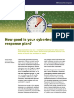 How Good is Your Cyberincident Response Plan