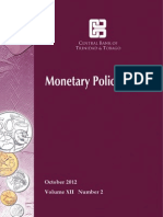 Monetary Policy Report Final Oct 2012
