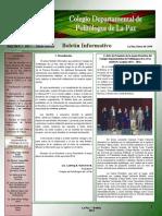 CDPLP-Boletín 1-13.01.14