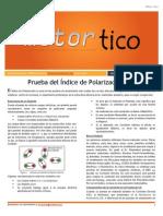 2013 MAY - Prueba Del Indice de Polarizacion