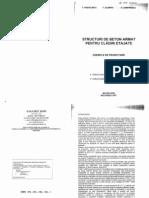 Structuri de Beton Armat Pentru Cladiri Etajate T Postelnicu