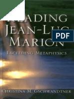 Reading Jean Luc Marion Exceeding Metaphysics.ebooKOID