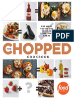 Excerpt from The Chopped  Cookbook by Food Network Kitchen