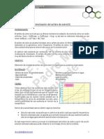 Cristalización del sulfato de cobre(II)