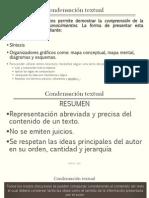 condensación textual.pptx