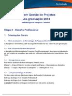 STR010 _WBA0012 - Metodologia da Pesquisa Científica Etapa II