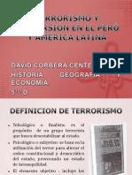 TERRORISMO Y SUBVERSIÓN EN EL PERÚ