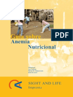 Anemia Nutricional Sigth and Life