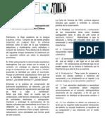 Concepción y Práctica de Conservación del Patrimonio Arquitectónico Chileno