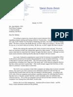 Al Franken's Letter to Ford
