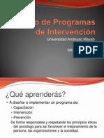 Programas de Intervención